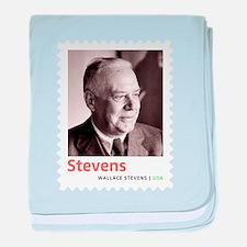 Wallace Stevens American Modernist Po baby blanket