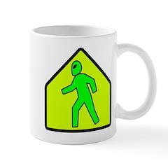 Alien Crossing Mug