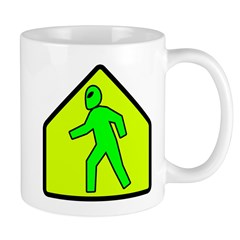 Alien Crossing Mug