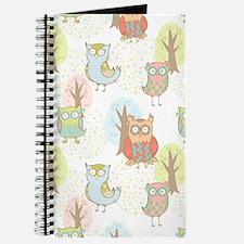 Cute Owls Journal