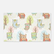 Cute Owls Area Rug