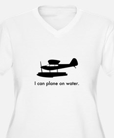 Plane on Water 14 T-Shirt