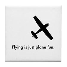 Plane Fun 1407044 Tile Coaster
