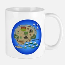 Migrainistan Map Mugs