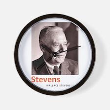 Wallace Stevens American Modernist Poet Wall Clock