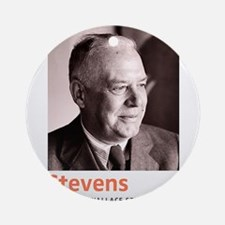 Wallace Stevens American Modernis Ornament (Round)