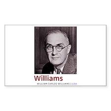 William Carlos Williams Latino-American po Decal