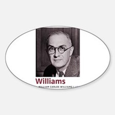 William Carlos Williams Latino-American po Decal