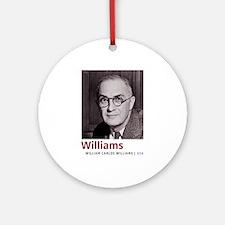 William Carlos Williams Latino-Am Ornament (Round)