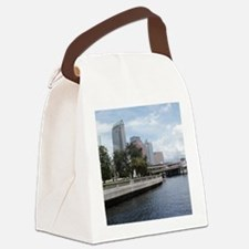 tampaskyline Canvas Lunch Bag
