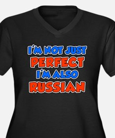 Not Just Perfect Russian Plus Size T-Shirt