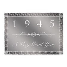 1945, A Very Good Year 5'x7'Area Rug