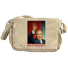 Perestroika Gorbi tee shirt 80s USSR Messenger Bag