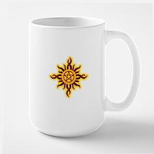 Sun Fire Pentacle Mug