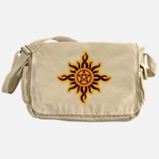Sun Fire Pentacle Messenger Bag