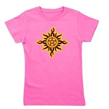 Sun Fire Pentacle Girl's Tee