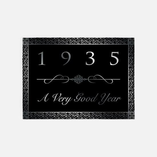 1935, A Very Good Year 5'x7'Area Rug