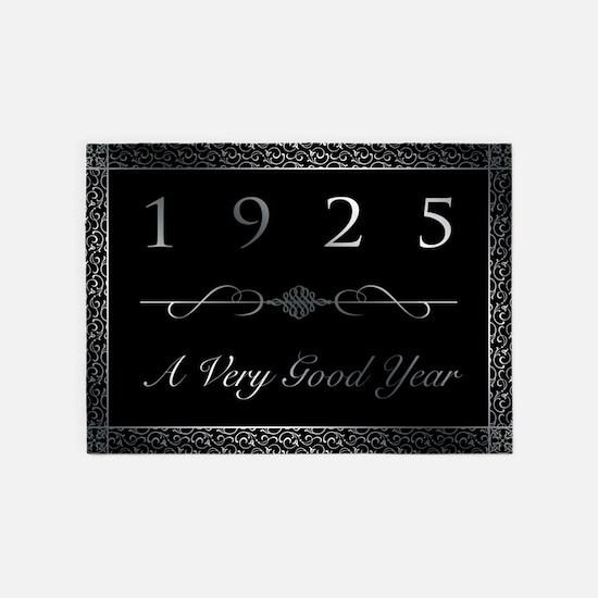 1925, A Very Good Year 5'x7'Area Rug