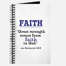 Faith Series-Zechariah 12:5 Journal