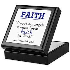 Faith Series-Zechariah 12:5 Keepsake Box