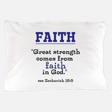Faith Series-Zechariah 12:5 Pillow Case