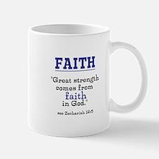 Faith Series-Zechariah 12:5 Mugs