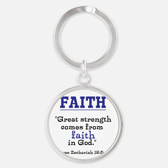 Faith Series-Zechariah 12:5 Keychains