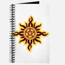 Sun Fire Pentacle Journal