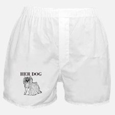 OYOOS Her Dog design Boxer Shorts