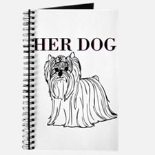 OYOOS Her Dog design Journal