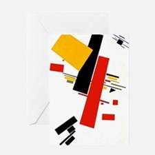 Kazemir Malevich Soviet Russian Art Greeting Cards