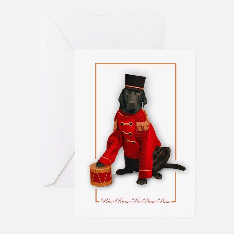 Paw-rum-pa-pum-pum CHRISTMAS Cards (Pk of 10)
