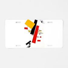 Kazemir Malevich Soviet Rus Aluminum License Plate