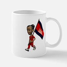 Cambodia Girl Mug