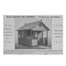 Play Houses for Children Postcards (Package of 8)