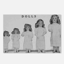 The Favorite Dolls Postcards (Package of 8)