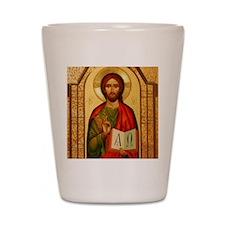 Christ The Teacher Shot Glass