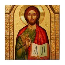 Christ The Teacher Tile Coaster