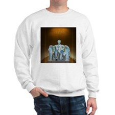 Lincoln statue Sweatshirt
