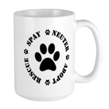 Spay Neuter Rescue Adopt Mugs