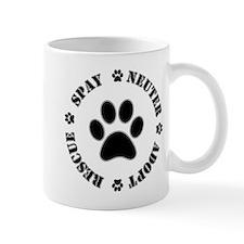 Spay Neuter Rescue Adopt Mugs