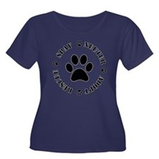 Spay Neuter Rescue Adopt Plus Size T-Shirt