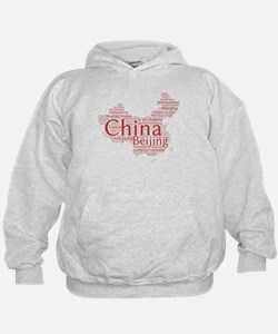 Chinese Cities Hoody