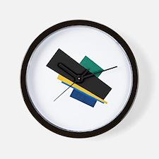 Funny Modernism Wall Clock