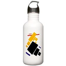 Cute Russia Sports Water Bottle