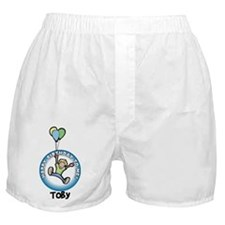 Toby: Happy B-day to me Boxer Shorts