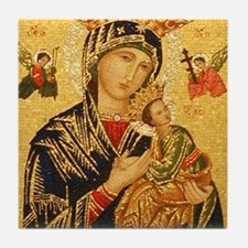 Our Lady of Perpetual Help Tile Coaster