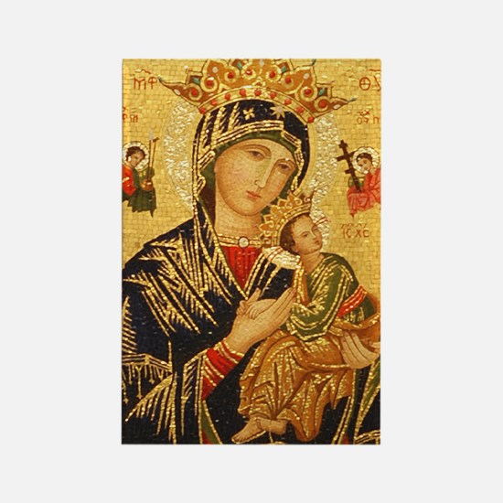 Our Lady of Perpetual Help Rectangle Magnet