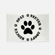 Spay Neuter Rescue Adopt Magnets