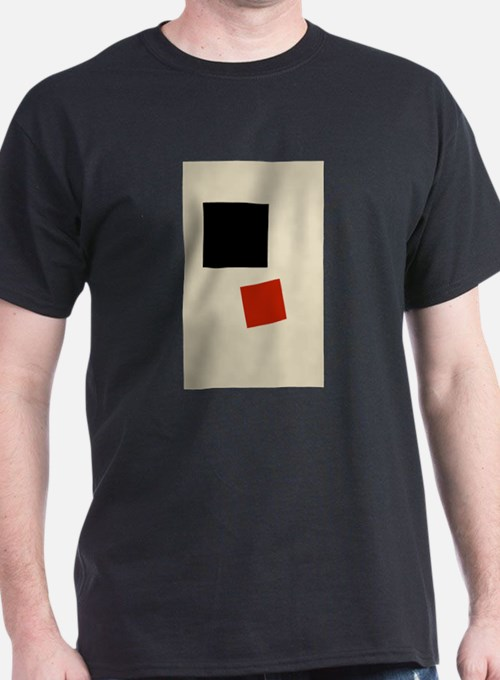 Malevich T-shirt geometric Abstract Art Pa T-Shirt
